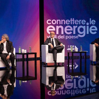 Enrico Deidda Gagliardo a Forum PA con Renato Brunetta